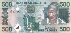 Sierra Leone P.23b 500 Leones 1998 (1)