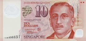 Singapur / Singapore P.48a 10 Dollars (2005) Polymer (1)