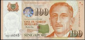 Singapur / Singapore P.42 100 Dollars (1999) (1)