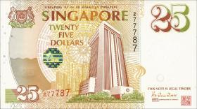 Singapur / Singapore P.33 25 Dollars 1996 Jubiläum (1)