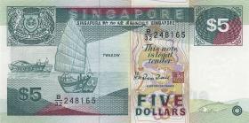 Singapur / Singapore P.35 5 Dollars (1997) (1)