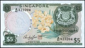 Singapur / Singapore P.02d 5 Dollars (1973) (1)