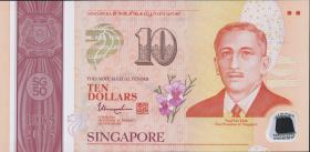 Singapur / Singapore P.56-60 5 x 10 Dollars 2015 Polymer (1)