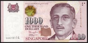 Singapur / Singapore P.51h 1000 Dollars (2017) (1)