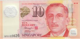 Singapur / Singapore P.48k 10 Dollars (2017) Polymer (1)