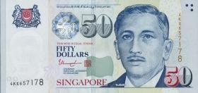 Singapur / Singapore P.49d 50 Dollars (2008) (1)