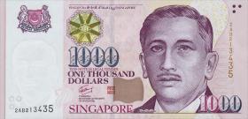 Singapur / Singapore P.51b 1000 Dollars (2009) (1)