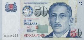 Singapur / Singapore P.49b 50 Dollars (2008) (1)