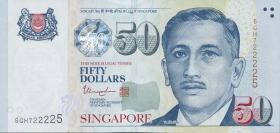 Singapur / Singapore P.49i 50 Dollars (2017) (1)