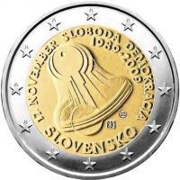Slowakei 2 Euro 2009 17. November 1989