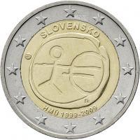 Slowakei 2 Euro 2009 WWU