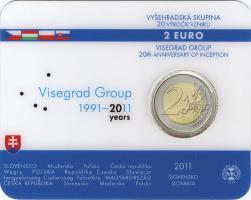 Slowakei 2 Euro 2011 Visegrad, Coincard