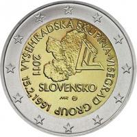 Slowakei 2 Euro 2011 Visegrad