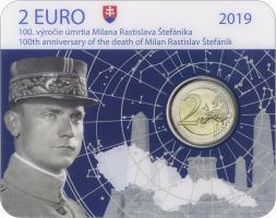 Slowakei 2 Euro 2019 Milan Stefanik Coincard