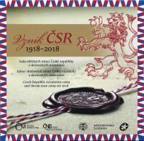 """Slowakei Euro-KMS 2018 """"100 Jahre Tschechoslowakei"""""""