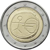 Slowenien 2 Euro 2009 WWU