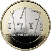 Slowenien 3 Euro 2013 Aufstand bei Tolmin PP