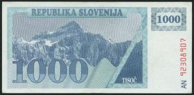 Slowenien / Slovenia P.09b 1000 Tolarjew (19)92 (3)