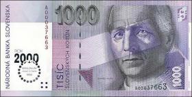 Slowakei / Slovakia P.39 1000 Kronen (2000) Millennium (1)