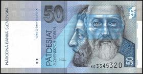 Slowakei / Slovakia P.21d 50 Kronen 2002 (1)