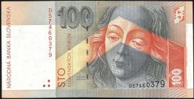 Slowakei / Slovakia P.25a 100 Kronen 2004 (2)