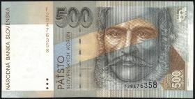 Slowakei / Slovakia P.27 500 Kronen 1996 (2)