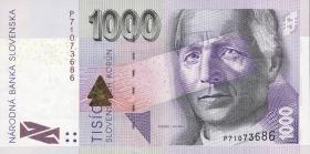 Slowakei / Slovakia P.47a 1000 Kronen 2005 (1)