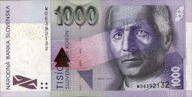 Slowakei / Slovakia P.47b 1000 Kronen 2007 (1)