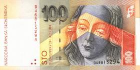 Slowakei / Slovakia P.22a 100 Kronen 1993 (1)