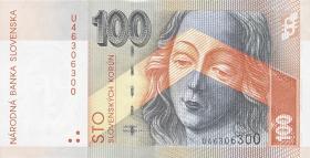 Slowakei / Slovakia P.44 100 Kronen 2004 (1)