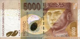 Slowakei / Slovakia P.33 5000 Kronen 1999 (1)