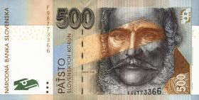 Slowakei / Slovakia P.46 500 Kronen 2006 (1)