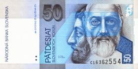 Slowakei / Slovakia P.21a 50 Kronen 1993 (1)