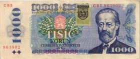 Slowakei / Slovakia P.19 1000 Kronen (1993) (3+)