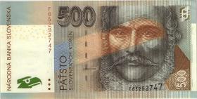 Slowakei / Slovakia P.31 500 Kronen 2000 (3+)