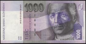 Slowakei / Slovakia P.24a 1000 Kronen 1993 (1-)
