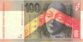 Slowakei / Slovakia P.25a 100 Kronen 1996 (1)