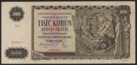 Slowakei / Slovakia P.13a 1000 Kronen 1940 (1)