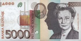 Slowenien / Slovenia P.19 5000 Tolarjew 1993 (1)