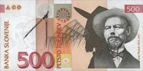Slowenien / Slovenia P.16c 500 Tolarjew 2005 (1)