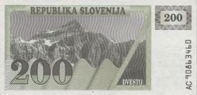 Slowenien / Slovenia P.07 200 Tolarjew (19)90 (1)