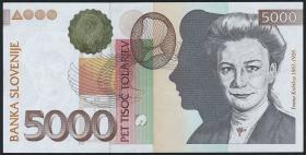 Slowenien / Slovenia P.23 5000 Tolarjew 2000 (1)