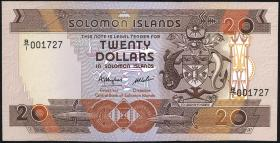 Solomon Inseln / Solomon Islands P.16 20 Dollars (1986) (1)