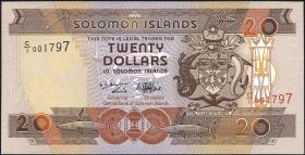 Solomon Inseln / Solomon Islands P.21 20 Dollars (1996) (1)