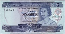 Solomon Inseln / Solomon Islands P.06a 5 Dollars (1977) (1)