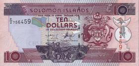 Solomon Inseln / Solomon Islands P.27a 10 Dollars (2004) (1)
