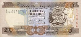 Solomon Inseln / Solomon Islands P.28a 20 Dollars (2006) (1)