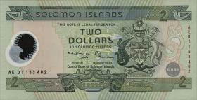 Solomon Inseln / Solomon Islands P.23 2 Dollars (2001) (1)