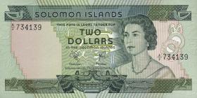 Solomon Inseln / Solomon Islands P.05a 2 Dollars (1977) (1)