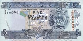 Solomon Inseln / Solomon Islands P.26 5 Dollars 2004 (1)
